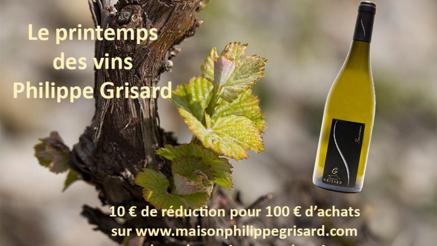 Printemps des vins ! Réduction sur la vente en ligne