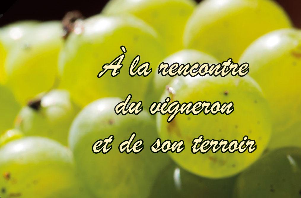 A la rencontre du vigneron les 21 et 22 octobre 2017