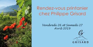 Rendez-vous printanier 26-27 avril 2019