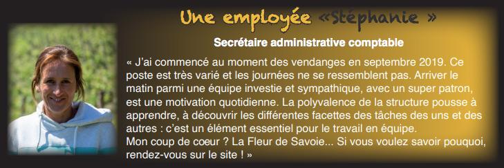 Stéphanie – Secrétaire administrative comptable